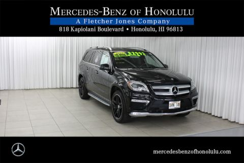 Certified Pre-Owned 2015 Mercedes-Benz GL-Class GL550 All Wheel Drive SUV