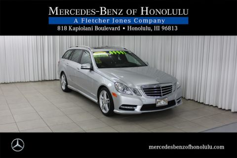 Certified Pre-Owned 2013 Mercedes-Benz E-Class E350 Sport All Wheel Drive Wagon