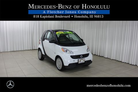 Pre-Owned 2015 smart fortwo Pure Rear Wheel Drive Coupe