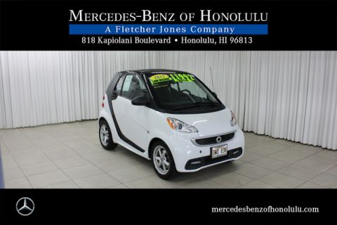 Pre-Owned 2015 smart fortwo Passion Rear Wheel Drive Coupe