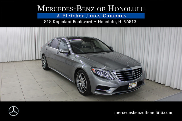 Pre Owned 2015 Mercedes Benz S Class S550 Sedan In
